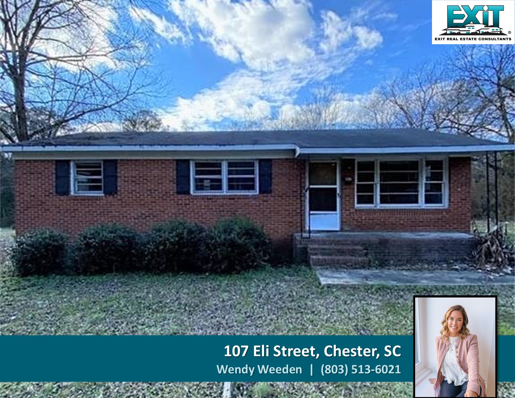 Just listed in Chester